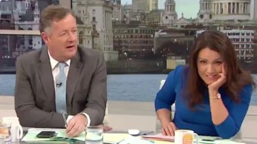 Susanna Reid shuts down Piers Morgan's rant on Good Morning Britain.