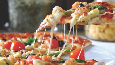 Menulog says pizza is the most popular item on its food ordering platform.