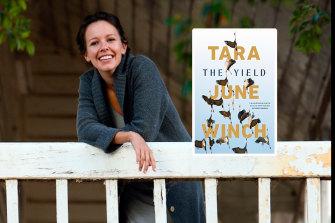 Tara June Winch and her 2020 Miles Franklin Literary Award-winning novel, The Yield.