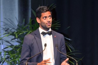 Rukshan de Silva was named as the Australian Young Planner of the Year at the National Planning Awards.