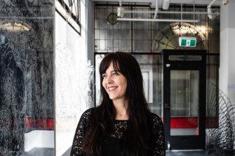 Claire Harris, director of the Flinders Lane Gallery.