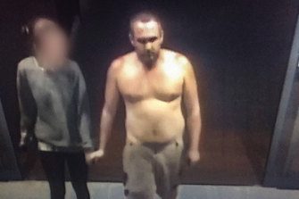 A man police want to speak to after an alleged deliberate coughing incident in Raymond Terrace Woolworths.
