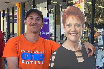 Former One Nation candidate Dean Smith, who underwent a recruitment interview with US-based neo-Nazi group, The Base.