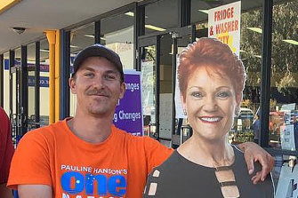Former One Nation candidate Dean Smith, who underwent recruitment interview with US-based neo-Nazi group The Base.