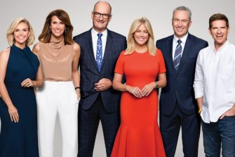 Channel Seven's Sunrise has topped the breakfast ratings since 2004.