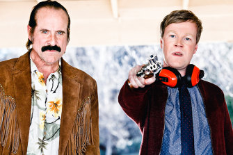 Peter Stormare and Johan Glans in the enjoyably ridiculous comedy Swedish Dicks.