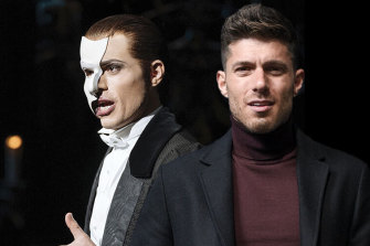 Postponed: Josh Piterman was to  star in Phantom of the Opera, coming to Sydney and Melbourne.