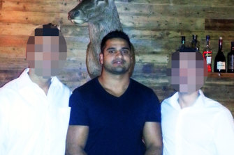 Mostafa Baluch, restaurateur, has been charged in relation to a major cocaine investigation.