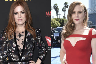 Isla Fisher, left, and Amy Adams.