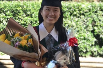Julina Lim, from Cabramatta High School, topped the state in economics in the 2020 HSC.