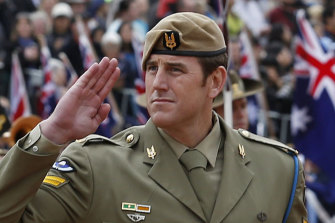 Higher calling: Decorated soldier Ben Roberts-Smith.