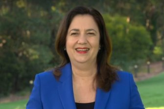 Premier Annastacia Palaszczuk announces on Today that the quarantined passengers would be released on Tuesday.
