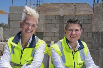 Christie Downs and Kathryn Wood are the co-founders of Handdii which raised $4 million earlier this year.