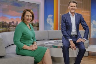 ABC News Breakfast hosts Lisa Millar and Michael Rowland have lifted the program's ratings to a record high.