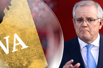 Scott Morrison remains preferred Prime Minister but a poll shows the biggest swing to Labor is in Western Australia.