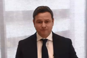 COVID quarantine hotel inquiry Department of Jobs, Precincts and Regions Secretary Simon Phemister.