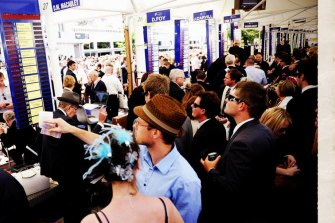 Wagering giants remain optimistic more dollars will be fluttered on Melbourne Cup Day.
