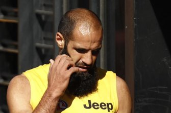 Bachar Houli will not to return to the Tigers side to face Gold Coast.