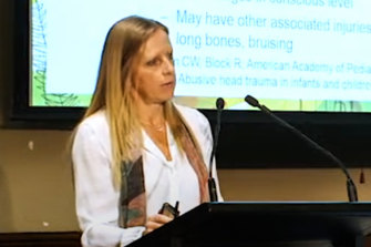Dr Jo Tully, deputy director of the Victorian Forensic Paediatric Medical Service at the Royal Children's andMonashChildren's hospitals.
