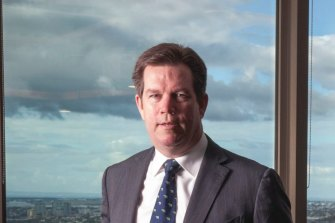 Ord Minnet chief executive Karl Morris was one of the few stockbrokers to pass the FASEA exam on his first attempt.
