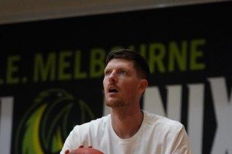 South East Melbourne Phoenix guard Cam Gliddon.