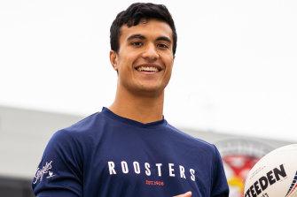 Boom Roosters recruit Joseph Suaalii.