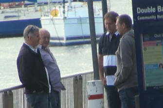 The four men leading the first conspiracy were monitored as they met at the skiff club in Double Bay to begin plotting.