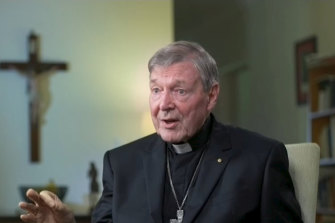 Cardinal George Pell defended his record in a TV interview following his recent acquittal.