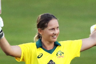 """Alyssa Healy says Meg Lanning has an """"aura"""" about her that intimidates opposition teams."""