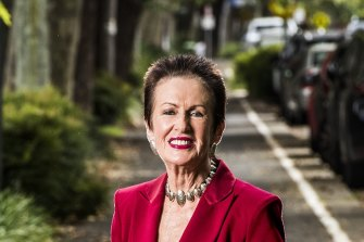 Sydney lord mayor Clover Moore is going for another term.