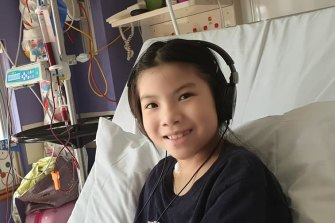 Julia (Lia) Quach who needs weekly blood transfusions after being diagnosed with aplastic anaemia, a rare blood disorder, in December.
