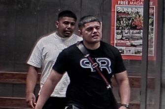 Investigators have released CCTV vision of two men they believe may be able to assist them with their inquiries.