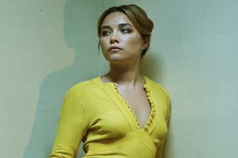 Florence Pugh stars in The Little Drummer Girl.