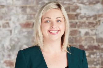 Sydney lawyer Caitlin Akthar