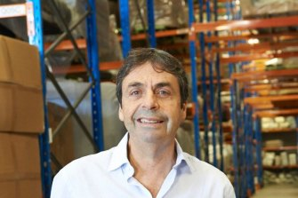 COVID-boom: Nick Scali managing director Anthony Scali has reported a bumper profit.
