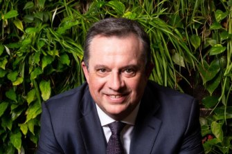 AMP Australia chief Scott Hartley.