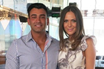 Danny Awad and wife Sarah Gatto.