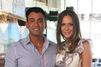 Danny Awad and his wife Sarah Gatto