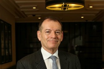 John Alexander has stepped down as executive chairman of Crown as of today.