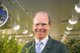 Cann Group chief executive Peter Crock