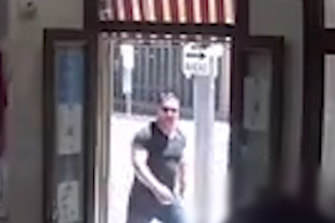 Police released CCTV images of a man they want to speak to about the incident.