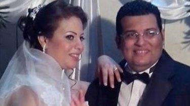 Dalia Saeed and Franswa Philip Fathy, nephew of Eman Sharobeem.