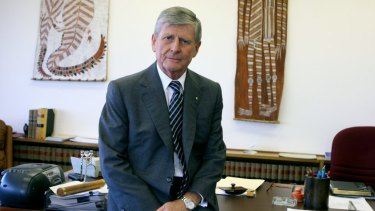 Murray Gleeson during his time as Chief Justice of the High Court of Australia