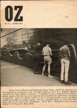 The 1964 cover of Oz magazine that led Richard Walsh and his fellow editors into trouble. Walsh is the sole survivor of the trio.