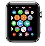 The Whole Pantry logo (right of centre), as featured on the Apple Watch promotional page.