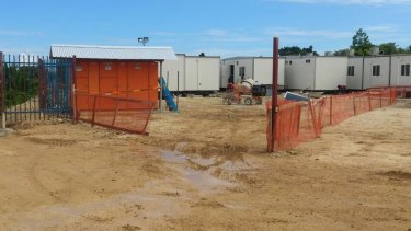 Housing for the asylum seekers on Manus Island who have left the detention centre.