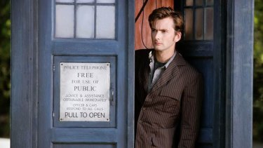 David Tennant, the Doctor Who of 2006.