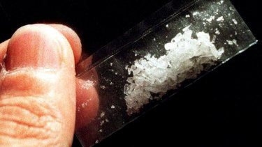Crystal methylamphetamine is fuelling serious, violent crime, according to the Australian Crime Commission.