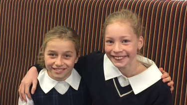 Students at St Michael's Catholic Primary School learn the art of friendship.