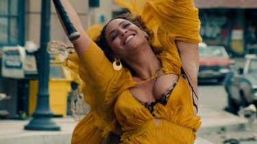 And the artist of the year is Beyonce – happy to take a stand.